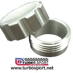 10 x Weld on aluminium alloy filler neck & cap petrol oil header catch tank 38mm