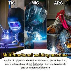 110V 220V Weld Aluminum Welder LED 200A MIG TIG ARC Stick Welding with Spool Gun