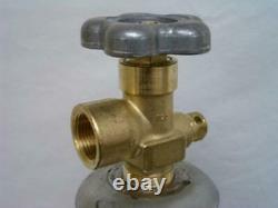 125 cu/ft 100% Argon Tank Welding Gas Cylinder CGA 580 FULL