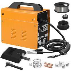 130A MIG Electric Welder Inverter Welding Machine 110V AC Flux Core Wire Gasless