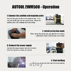 160A 110V/220V Handheld Arc Inverter Welder Welding Machine TIG Stick Welder