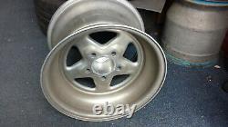 2 X Weld Pro-star, 15 X 10 / Fully Polished Aluminium Wheels