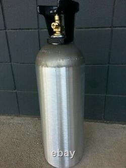 20 lb ALUMINUM CO2 CARBON DIOXIDE TANK- NEW-Beverage, Welding & Beer Systems