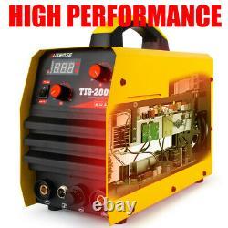 200 Amp HF TIG/Stick/Arc TIG Welder 110 /220V Dual Voltage TIG Welding Machine
