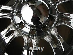 22 Weld Racing EVO Velociti 8 Forged Rims 22 x 9.5 8 x 6,5 in AluChrome