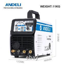220V AC/DC TIG Welder MMA/LIFT TIG/HF TIG/ 3 in 1 Aluminum Welding Machine