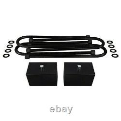 3 Front + 3 Rear Lift Kit + ProComp SHOCKS For 1999-2004 Ford F250 F350 4X4
