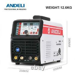 4in1 Cold TIG Welding Machine AC DC MIG Smart With Aluminum Alloy 220v Fast Ship