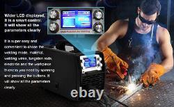 4in1 Weld Aluminum MIG ARC TIG Welder 110V 220V Pluse Gas MIG Welding Machine