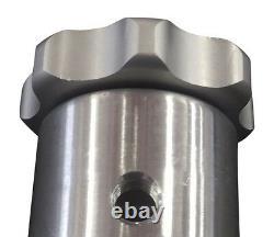 5.5 x 12 Spun Aluminum Vertical Gas Tank. 8 Gallon No Welds or Seams