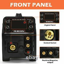 5 in 1 MIG Welder 200Amp 110V 220V DC ARC Lift TIG MIG Aluminum Welding Machine