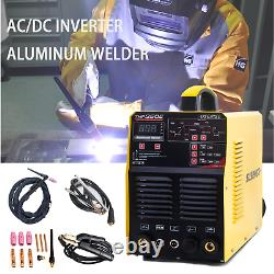 AC/DC 350Amp 4 in 1 Inverter Welder TIG MMA IGBT Pulse Aluminum Welding Machine