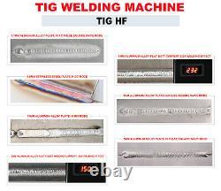 AC/DC IGBT Pulse Aluminum Welding Machine 350Amp 4 in 1 Inverter Welder TIG MMA