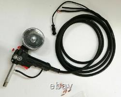 Aluminum Spool Gun Fit Miller 210 Spoolmate 3035(5M cable DC24V) Welding Tool
