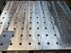 Aluminum Welding Fixture Plate