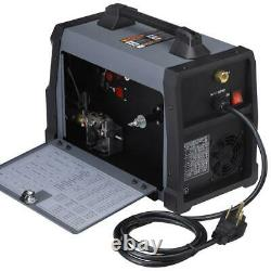 Amico MTS-205, 205 Amp MIG/TIG/Stick Arc 3-IN-1 Combo Welder, MIG Weld Aluminum
