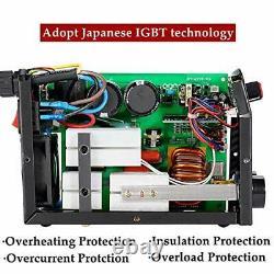 Arc Welder 110V 200A Welding Machine IGBT Inverter DC mini Electric (Red)