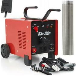 BX1-250C1 ARC Welder 110/220V AC Welding Machine 250 Amp with Face Mask