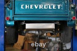 Boyd Welding C10 Aluminum Fuel Tank, Bed Fill, Carb, 55-59 GM Truck