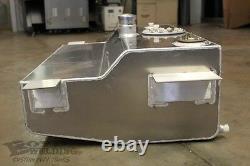 Boyd Welding C10 Aluminum Fuel Tank, Bed Fill, EFI, withExtras, 55-59 GM Truck