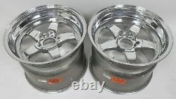 C6 Z06 Weld Racing RT-S S71 Forged Aluminum Polished Rear Wheels 17x11 USED LSX