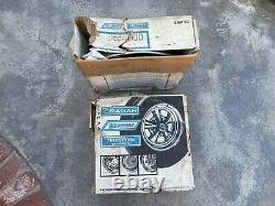 CRAGAR WELD Spindle Mount 15X3-1/2 FRONT RIMS WHEELS GASSER Funny Car Dragster