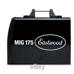 Eastwood MIG 175 Welder With Spool Gun For Steel Aluminum Flux-Core Weld