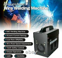 Electric MIG 130 Welder-Automatic Arc Wire Welding Machine No Gas Portable 110V