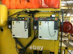 Fanuc Genesis Versa 4M dual Arc Mate 120i Robots Welding system Steel Aluminum