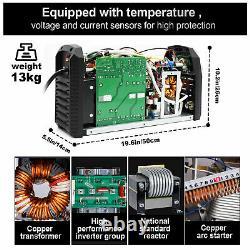 HITBOX 110V 240V TIG Welder AC DC HF PFC TIG ARC Welding Machine Weld Aluminum