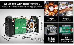 HITBOX TIG 200 AC/DC Aluminum Welder PFC Inverter TIG Welding Machine 110V/220V