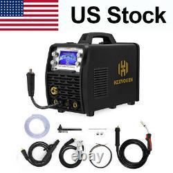 HZXVOGEN 5IN1 MIG/TIG/Stick Arc Combo Welder Weld Aluminum 110V/220V HBM2280