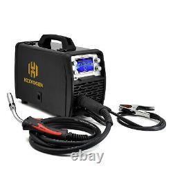 HZXVOGEN MIG 200A Welder 110V 220V LED Smart MIG Stick TIG Welder Weld Aluminum