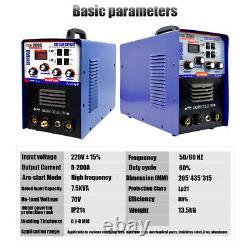 IGBT Aluminum Welder AC/DC TIG/MMA Welding Machine 2T/4T TSE200G 220V±15%