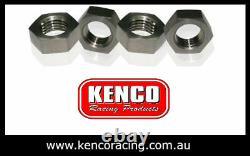 Kenco Aluminium Weld on Beadlock Kit 15 Wheel Rim Speedway Drag Car Race 4wd