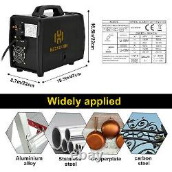 LED Aluminum Welder MIG TIG ARC Welder 110/220V Gas Gasless MIG Welding Machine