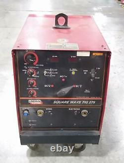Lincoln Electric Square Wave TIG 275 Welding TIG Welder UNTESTED 3