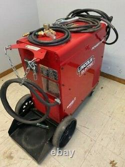 Lincoln Power MIG 255XT Single-Phase MIG Welding Welder Package