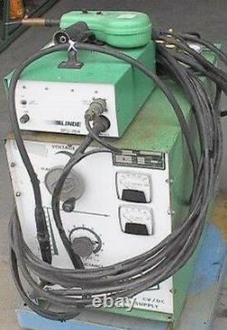 Linde Hand-Spool Aluminum MIG Welding Rig 250A 100%Duty