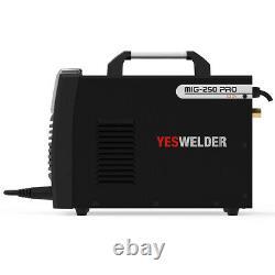 MIG-250 PRO Aluminum MIG Welder, 250A 220V, Welding Machine MIG/Lift TIG/ARC 3 in1