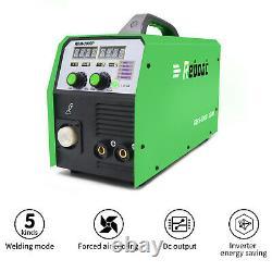 MIG MMA PULSE 200A Aluminum WELDER 220V IGBT INVERTER Digital WELDING MACHINE US
