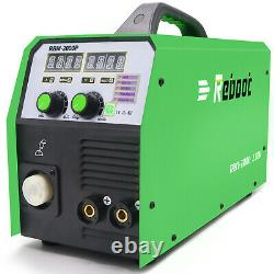 MIG2000P Aluminum Welder Pulse IGBT 220V MIG MAG GAS MMA 5 IN 1 2T / 4T WELDING