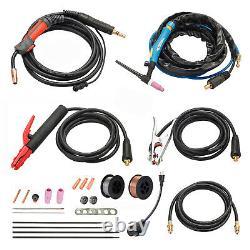 MTS-185 185 Amp 3-IN-1 MIG/TIG/Stick Arc Combo Welder, MIG-Weld Aluminum