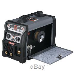 MTS-185 Amp MIG/TIG/Stick Arc 3-in-1 Combo Welder, MIG-Weld Aluminum, 110/230V