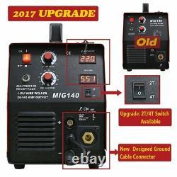 Mig Wire Feeder Welder Mig140 Gas Shielded 140a Welding 2016 Upgraded Version