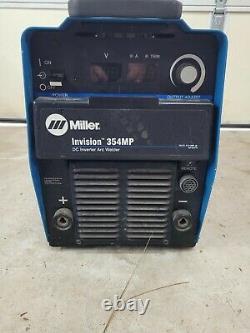 Miller Invision 354Mp welding machine