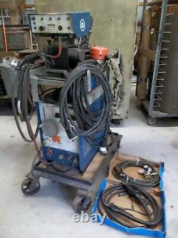 Miller Mig Welder Pc 200 Welds Steel, Stainless And Aluminum- Plug And Play