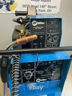 Miller Shopmaster 300 MIG TIG STICK Welding Welder w Wire Feeder & High Freq Box
