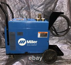 Miller Syncrowave 180 SD Welder, Foot Pedal, Torch, Cables, Gauges. Ready To Weld
