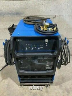 Miller Syncrowave 200 AC/DC Air-Cooler TIG Welding Welder with Pedal & Leads